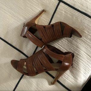 franco sarto brown heels. Size 8.